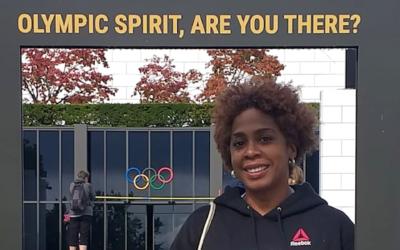 A Luta pela Paz marca presença no Encontro Juvenil do Comitê Olímpico Internacional.